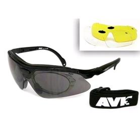 Очки спортивные AVK Veloce черные