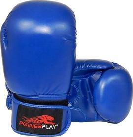 Перчатки боксерские PowerPlay 3004 синие