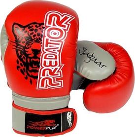 Перчатки боксерские PowerPlay 3008 красные - 8 Oz