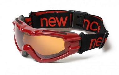 Маска лыжная New Balance Pilot Red