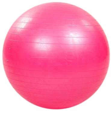 Мяч для фитнеса (фитбол) 65 см HMS розовый