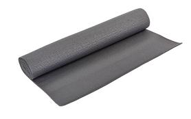 Коврик для фитнеса Pro Supra Yoga Mat серый 4 мм