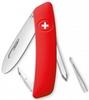 Нож швейцарский детский Swiza J02 Junior красный - фото 1
