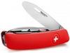 Нож швейцарский детский Swiza J02 Junior красный - фото 2