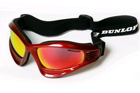 Очки лыжные Dunlop 335.17 red