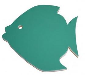 Доска для плавания Onhillsport Рыбка PLV-2439 зеленая
