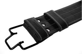 Распродажа*! Пояс для пауэрлифтинга трехслойный со скобой Onhillsport L - Фото №2