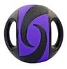 Мяч медицинский (медбол) Pro Supra FI-5111-5 5 кг черный с фиолетовым - фото 2