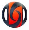 Мяч медицинский (медбол) Pro Supra FI-5111-8 8 кг черный с красным - фото 2