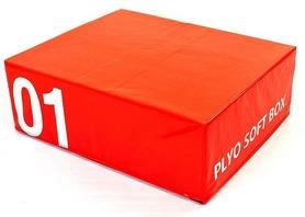 Бокс плиометрический мягкий Pro Supra Soft Plyometric Bоxes красный