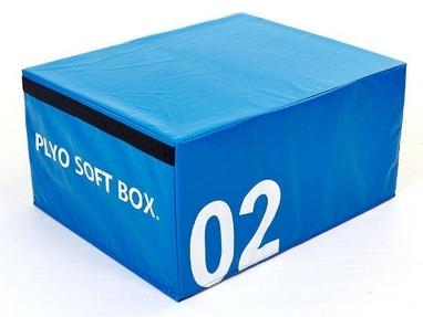 Бокс плиометрический мягкий Pro Supra Soft Plyometric Bоxes синий