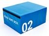 Бокс плиометрический мягкий Pro Supra Soft Plyometric Bоxes синий - фото 1