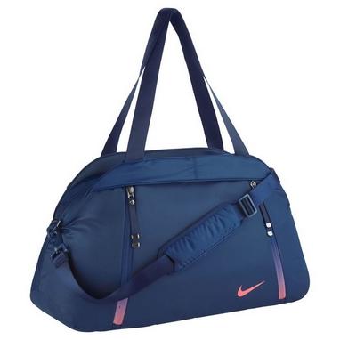 Сумка спортивная женская Nike Auralux Club-Solid синяя - купить в ... 6f5511b72c2ec