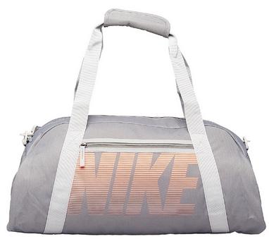 d430435e632e Сумка спортивная женская Nike Women S Gym Club серая - купить в ...