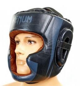 Шлем боксерский Venum BO-5239-BK черный