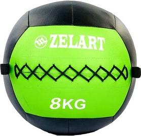 Мяч медицинский (медбол) Pro Supra Wall Ball FI-5168-8 8кг зеленый