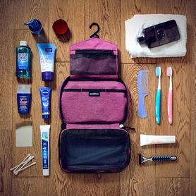 Фото 2 к товару Косметичка Naturehike Несессер Toiletry bag NH15X001-S фиолетовая