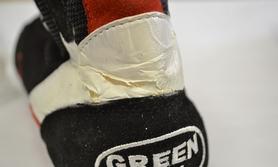 Фото 2 к товару Боксерки кожаные Green Hill, размер - 44 - уцененные*