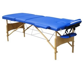 Стол массажный 3-х секционный Relax HY-30110-1.2.3 синий