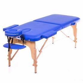 Стол массажный 3-х секционный Relax HY-30110B синий