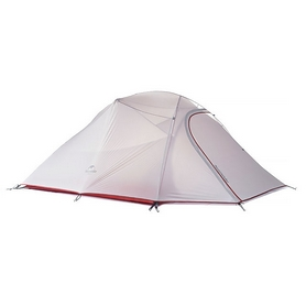 Палатка трехместная «с юбкой» Naturehike Cloud UP III NH15T003-T красная