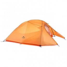 Палатка трехместная Naturehike Cloud UP III 210T polyester NH15T003-T оранжевая