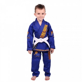 Кимоно для джиу-джитсу детское Tatami Kids New Animal BJJ Gi Royal Blue