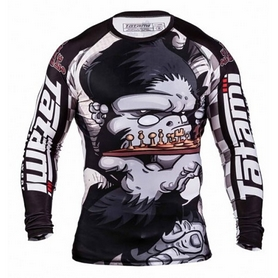 Рашгард Tatami Chess Gorilla Rash Guard Принт