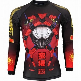 Рашгард Tatami Honey Badger V3 Rash Guard  Принт