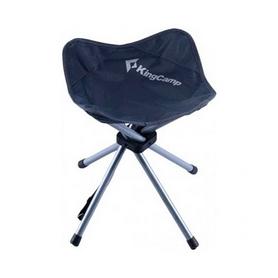 Стул-зонтик раскладной KingCamp Fourlegs Stool 4 Dark Grey