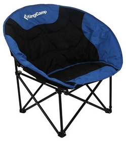 Кресло туристическое складное KingCamp Moon Leisure Chair Black/Blue