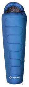 Мешок спальный (спальник) KingCamp Treck 300(KS3131) L синий
