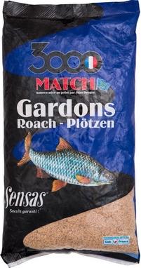 Прикормка Sensas 3000 Match Gardons (1 кг)