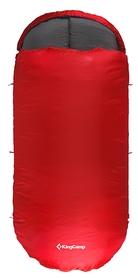 Мешок спальный (спальник) KingCamp Free Space 250(KS3168) R красный