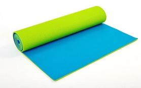 Коврик для фитнеса Pro Supra FI-5558-3 6 мм зеленый