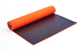 Коврик для фитнеса Pro Supra FI-5558-4 6 мм оранжевый