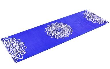 Коврик для йоги (йога-мат) Pro Supra FI-5662-10 3 мм синий
