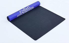 Фото 2 к товару Коврик для йоги (йога-мат) Pro Supra FI-5662-10 3 мм синий