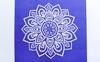Коврик для йоги (йога-мат) Pro Supra FI-5662-10 3 мм синий - фото 3