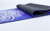 Коврик для йоги (йога-мат) Pro Supra FI-5662-10 3 мм синий - фото 4