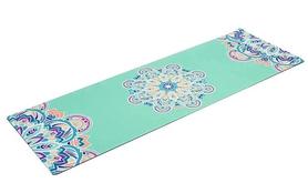 Коврик для йоги (йога-мат) Pro Supra FI-5662-11 3 мм голубой