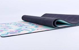 Фото 4 к товару Коврик для йоги (йога-мат) Pro Supra FI-5662-11 3 мм голубой