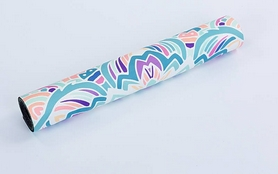 Фото 5 к товару Коврик для йоги (йога-мат) Pro Supra FI-5662-11 3 мм голубой