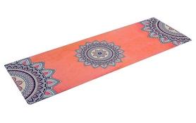 Коврик для йоги (йога-мат) Pro Supra FI-5662-9 3 мм оранжевый