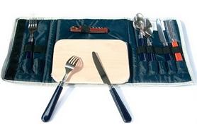 Набор для пикника на 2 персоны KingCamp Picnic Cooking Wallet-2 Blue