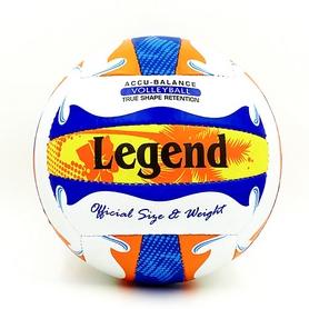 Мяч волейбольный Legend PU LG5398 №5 бело-синий