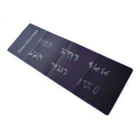 Коврик для йоги (йога мат) Fitex MD9034 черный