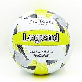 Мяч волейбольный Legend PU LG5403 №5 бело-салатовый