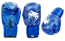 Перчатки боксерские детские Venum MA-5432-B синие - 2oz