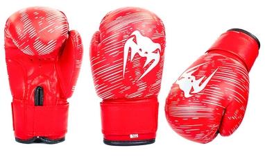 Перчатки боксерские детские Venum MA-5432-R красные
